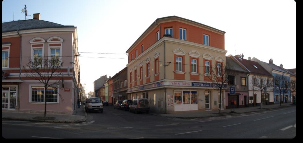 Ubytovna Duchcov u města Teplice - pohled z ulice Teplická