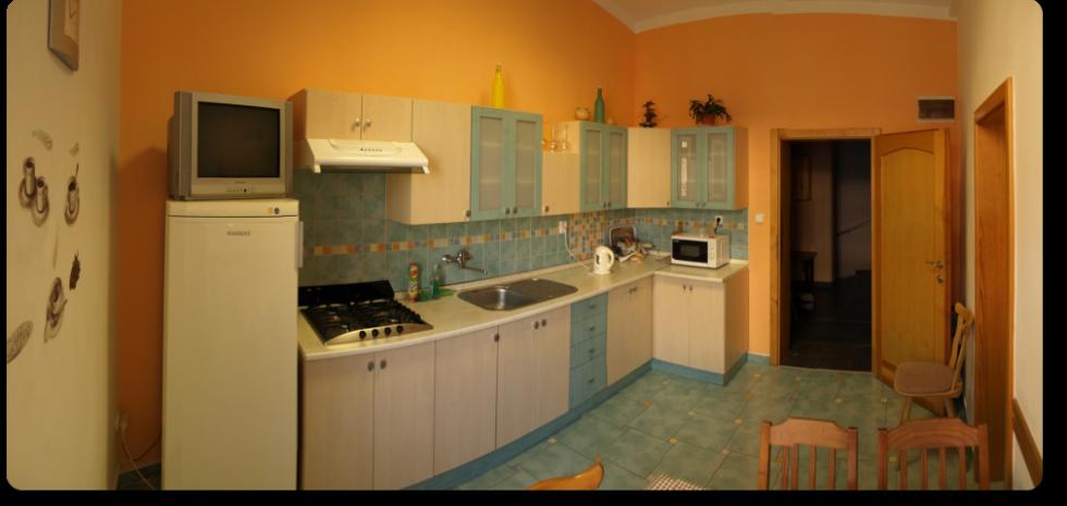 Ubytovna Duchcov u města Teplice - kuchyně